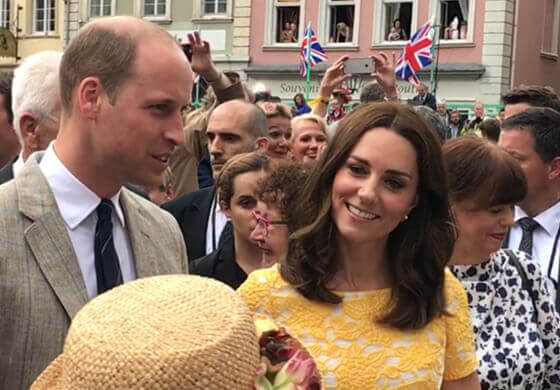 Neuigkeiten William und Kate in Heidelberg